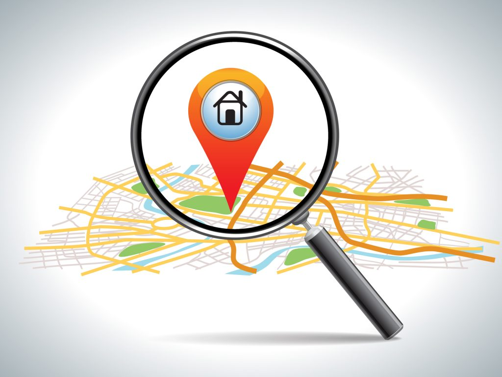search for location