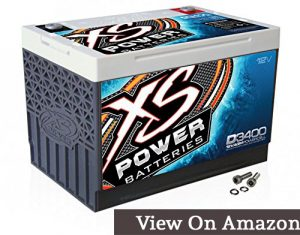 D3400 XS Series Car battery